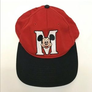 Goofys Hat Co Snap Back Baseball Hat Mickey Mouse